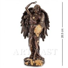 Статуэтка Фортуна - Богиня счастья и удачи (цвет: медь)
