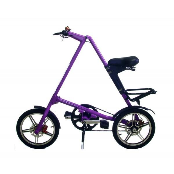 Складной фиолетовый велосипед Citybike 2.0