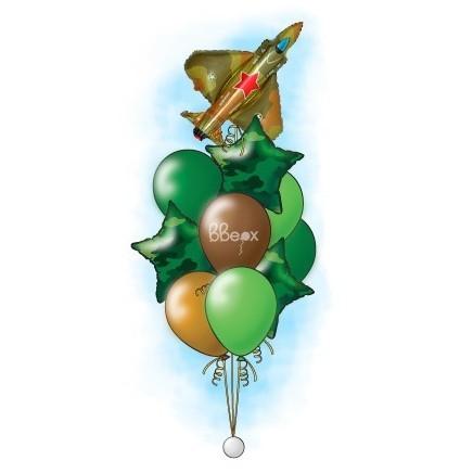 Букет из шаров «Сверхзвуковой»