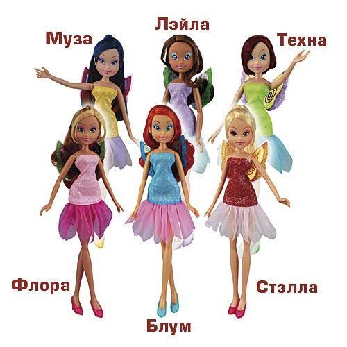 Кукла Winx Мода и магия в ассортименте
