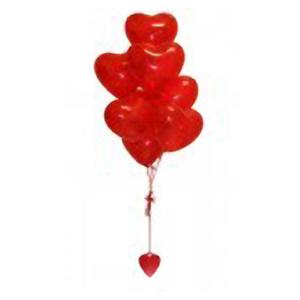 Букет из шаров «Сердца»