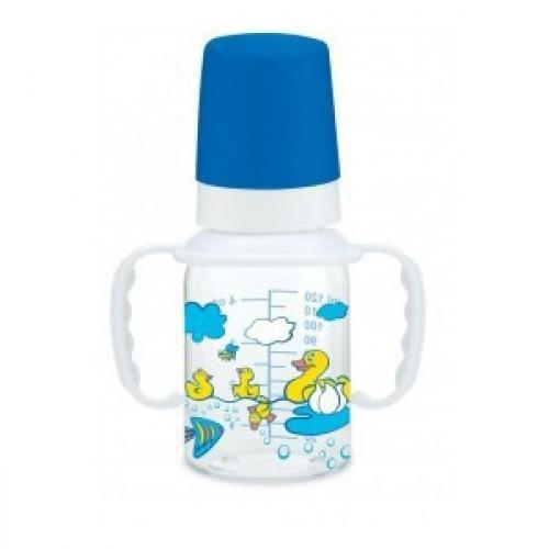 Бутылочка пластиковая с ручками. Серия Деревня