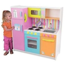 Большая детская игровая кухня Делюкс