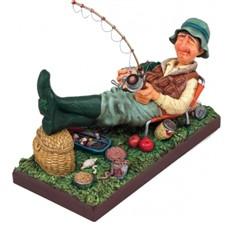 Скульптура Рыбак