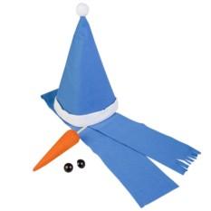 Синий набор «Настоящий снеговик»