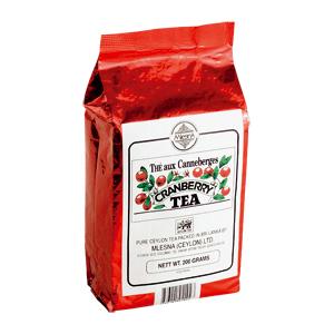 Чай черный с ароматом клюквы