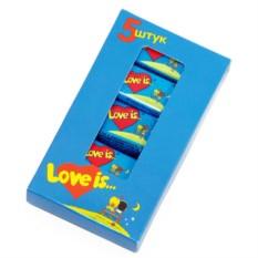 Жвачка Love is... Клубника и Банан 5 шт