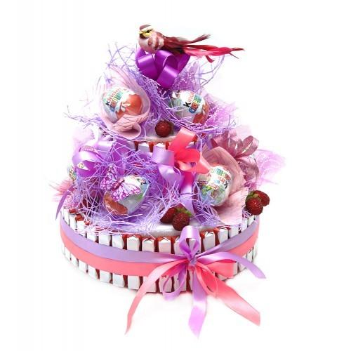 Букет из конфет Киндер-торт