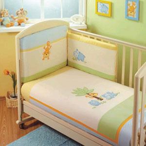 Постельное бельё в кроватку Jungle Sestetto