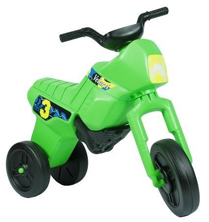 Салатовый детский мотоцикл Веларти