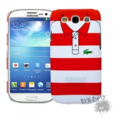 Чехол для Samsung Galaxy S3 Red and white stripes