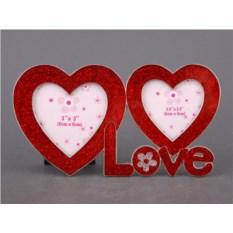 Фоторамка Love для фото размером 8 х 8 см