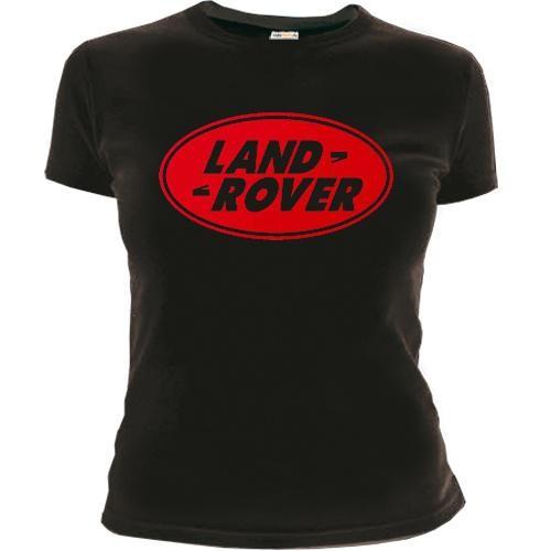 Женская футболка Landrover