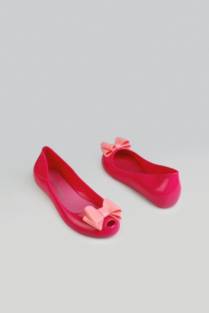 Резиновые балетки Свитли 1, розовые