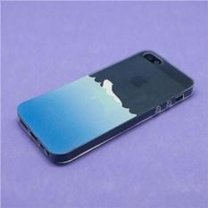 Чехол для iPhone 5/5s Мишка на Севере