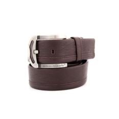 Темно-коричневый мужской кожаный ремень G.Ferretti тип 71-6