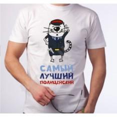 Мужская футболка Полицейский