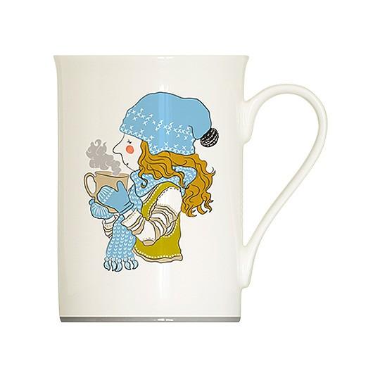 Кружка Девочка с чашкой