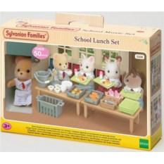 Игровой набор Sylvanian Families Школьный обед