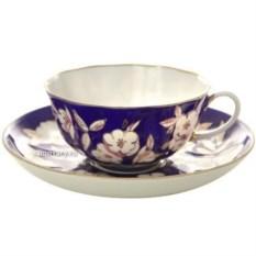 Фарфоровый чайный сервиз на 6 персон Яблоневый цвет
