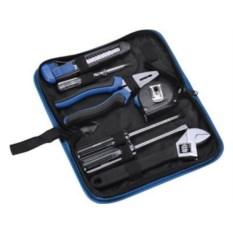Синий набор инструментов в чехле