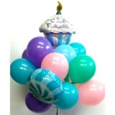 Букет шаров Сладкий День Рождения!