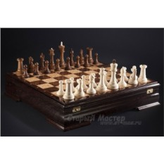 Шахматы «Стаунтон» из бивня мамонта