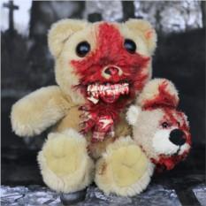 Игрушка Walking Ted Sadist - медведь-зомби ручной работы
