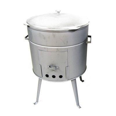 Печка «Очаг» с казаном на 15 литров