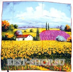 Платок с пейзажем