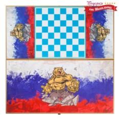 Нарды и шашки Русский медведь