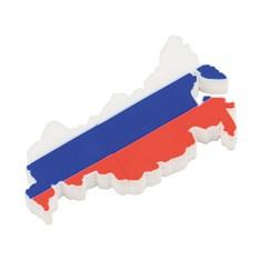 Флеш-карта USB 2.0 на 4 Gb в форме карты России