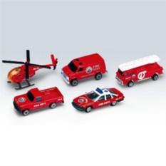 Игровой набор Машинка Welly. Пожарная команда
