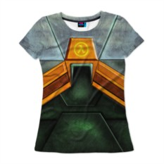 Женская футболка Костюм Гордона Фримена
