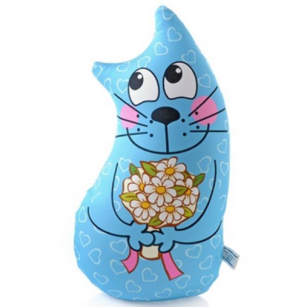 Подушка антистресс Цветочный кот