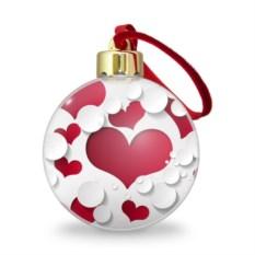 Ёлочный шар Сердца