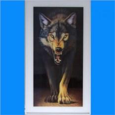 Картина Волк с эффектом 3D