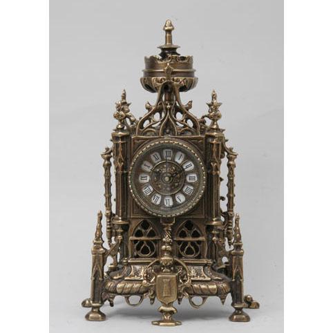 Часы настольные из бронзы Virtus  «Готика»