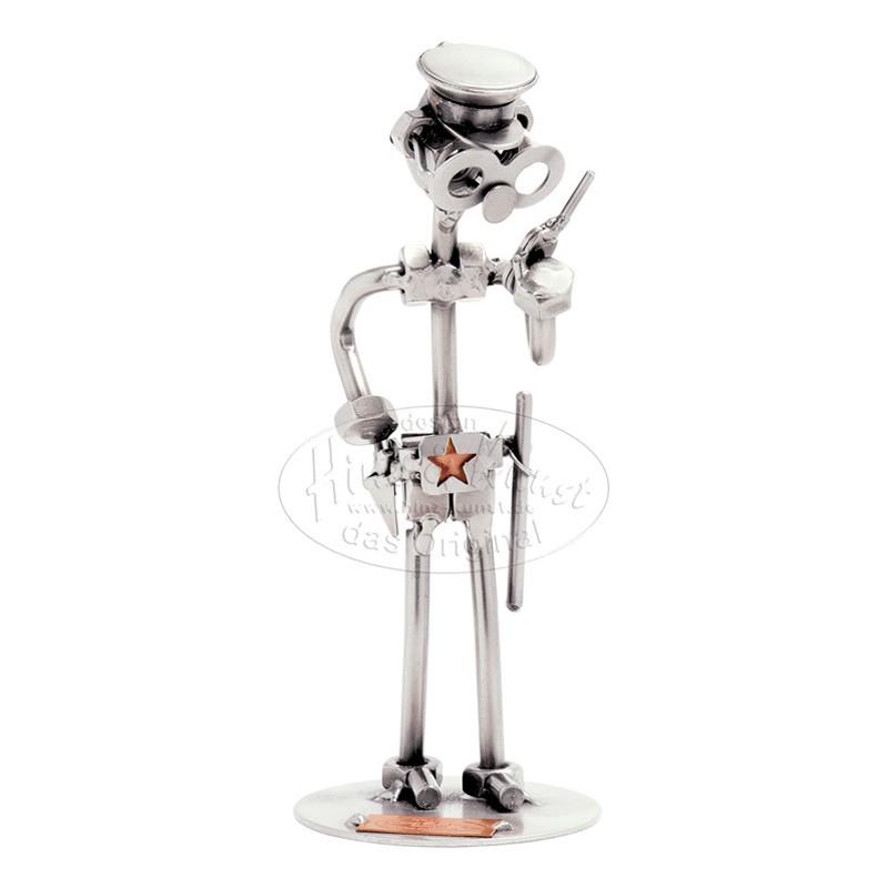 Статуэтка из металла Полицейский