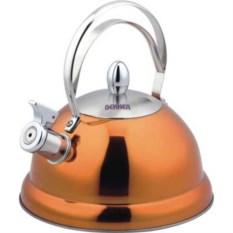 Оранжевый металлический чайник на 2,6 л DeLuxe Bekker