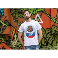 Именная футболка Русский медведь