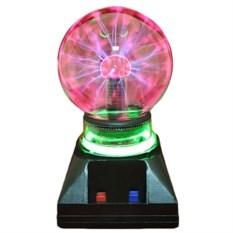 Плазменный шар с неоновой подсветкой