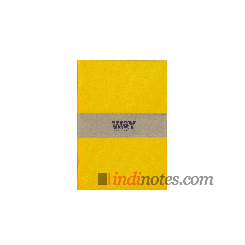 Желтая тетрадь-скетчбук Way Colorbook