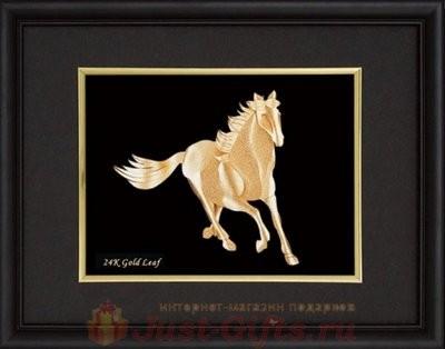 Декоративное панно Конь Golden Orchid