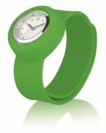 Силиконовые детские часы, зеленые