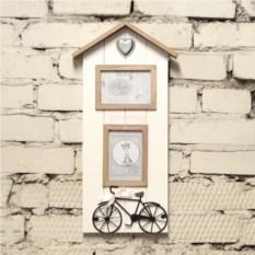 Фоторамка Велосипед на 2 фото