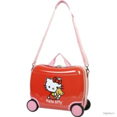 Детский чемодан на колесах Kids Luggage от Hello Kitty