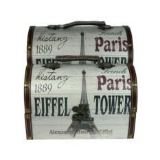 Набор сундучков Эйфелева башня