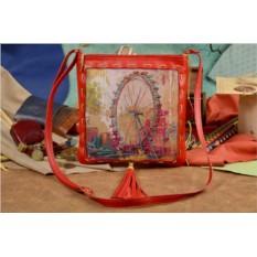 Женская сумка-планшет с принтом London Eye