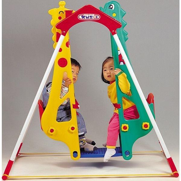 Детские качели Жираф и дракон Haenim toys